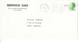 Marque Linéaire De Besançon Du 13 Avril  1984