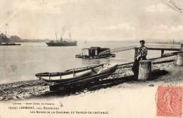 LORMONTLes Bords De La Garonne ,vapeur En Partance - France