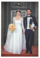 Wedding  Carl Philipp & Sofia Sweden  ( Groen  801 - Familles Royales