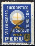 PERU' - 1962 - 6° CONGRESSO EUCARISTICO NAZIONALE - USATO - Peru