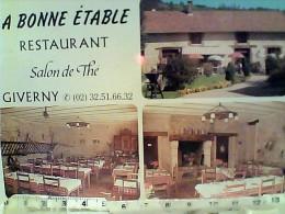 FRANCE  GIVERNY RESTAURANT LA BONNE ETABLE  N1990 FB7421 - Francia