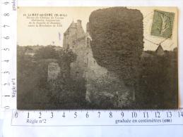 CPA (49) Maine Et Loire - LE MAY Sur EVRE - Ruines Du Château Du Cazeau - Habitation Seigneuriale De La Famille Bourbon - France
