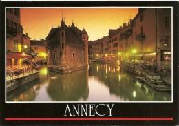 74. CPM. Haute Savoie. Annecy. Coucher De Soleil Sur Le Palais De L'Isle (vieilles Prisons) - Annecy