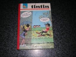 RELIURE RECUEIL TINTIN N° 73 N° 9 à 18 Année 1965 Edition Belge Très Bon Etat Vaillant Hochet Funcken Chick Bill Hergé - Tintin