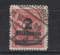 1923    MICHEL  Nº 309  B P A    -- Geprüft -- - Deutschland