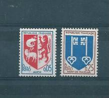 France Timbres De 1966 Neufs **   N°1468/69 - Unused Stamps