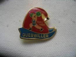 Pin´s Haltérophilie  CAU 1898  GUEBWILLER - Haltérophilie