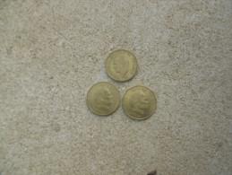 20 FRANCS RAINIER MONACO 1957 20 Centimes LOT 1974 1975 - Monaco