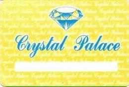 Crystal Palace Casino Lima Peru Player's Card - Casino Cards