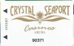 Crystal & Seaport Casinos Aruba Slot Card - Casino Cards
