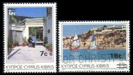 CYPRUS 1988 - Set Overprinted Used