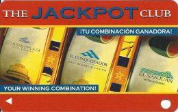 Condado, El Conquistador & El San Juan Casinos Puerto Rico Jackpot Club Card - Casino Cards
