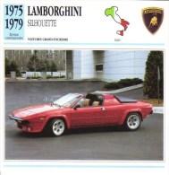 Lamborghini Silhouette  -  1975  -  Fiche Technique Automobile (Italie) - Voitures