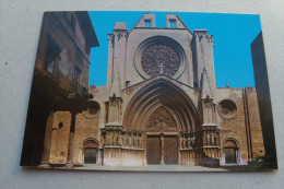 Espagne - Tarragona - Fachada De La Catedral - Tarragona