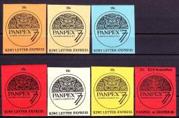 New Zealand Panpex Kiwi Letter Express Collection. - Sellos De Urgencia