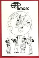 HAU-24 Poster Symbolisant L'espérance Des Mouvements Aruraux Aux 4 Coins De La Planète. Fimarc Wépion 1994 Non Cir - Farmers