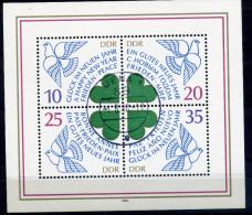 DDR Michel Nummer Block 75  Mit Ortshandstempel - DDR