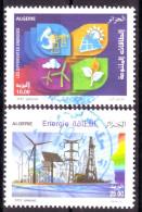 Algérie- Timbres Oblitérés ( Oblitérations Centrales Rondes) Différentes énergies. - Algerien (1962-...)