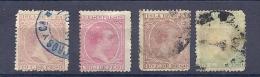 150024653  CUBA  ESPAÑA   EDIFIL  Nº   128/31  USED/MH - Cuba (1874-1898)