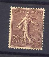 02761  -   France  :  Yv  131  * - 1903-60 Semeuse A Righe