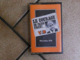Cassette Audio VDB - Paul Vanden Boeynants - 1978 - Cassettes Audio