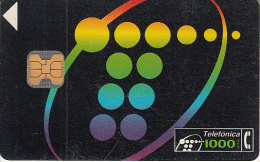 SPAIN - Telefonica Telecard 1000 Ptas, Chip F2, 07/94, Used - Spain