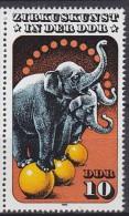 1978 République Démocratique Allemande GERMAN DEM. REP   ** MNH Cirque Circus Cirque  [DF17] - Zirkus