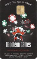 Napoleon Games Knokke Belgium Slot Card With Smart Chip  .....[FSC]..... - Casino Cards