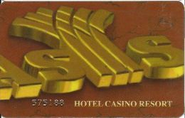 Oasis Casino Slot Card Palestine Territory With 31737 On Reverse - Casino Cards