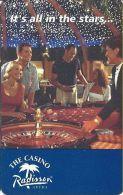 The Casino Radisson Aruba - BLANK Slot Card - Casino Cards