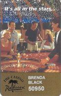 The Casino Radisson Aruba - Gold Level Slot Card - Casino Cards