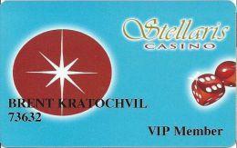 Stellaris Casino At The Marriott Hotel Aruba VIP Member Card - Casino Cards