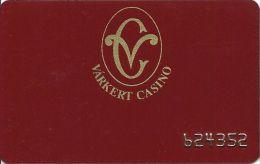Varkert Casino Budapest Hungary Slot Card - Casino Cards