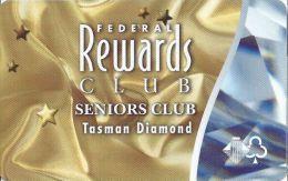 Wrest Point Hotel Casino Australia Federal Rewards Club Seniors Club Tasman Diamond Slot Card .....[FSC]..... - Casino Cards