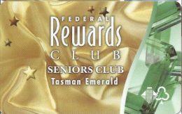 Wrest Point Hotel Casino Australia Federal Rewards Club Seniors Club Tasman Emerald Slot Card .....[FSC]..... - Casino Cards