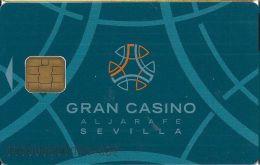 Gran Casino Aljarafe Sevilla Spain - Slot Card With Smart Chip - Casino Cards