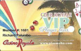 Casino Royale St. Maartin VIP Player Card - Casino Cards