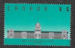 CANADA 1990, #1183,HIGH VALUES ARCHITESTURES: MARCHE BONSECOURS MONTREAL, SINGLE   NO GUM - Oblitérés