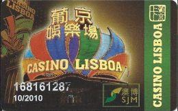 Casino Lisboa Macau Slot Card - Casino Cards