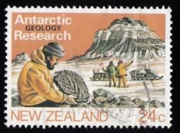 NEW ZEALAND - Scott #791 Antarctic Research (*) / Used Stamp - Spedizioni Antartiche