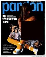 Pardon Zeitschrift - Das Satirische Magazin Nr. 5 Von 1977  -  Mit : Der Verunsicherte Mann - Zeitungen & Zeitschriften