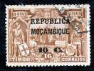 !! Mozambique 1913 AF#151ø Vasco Da Gama On Timor 10 Centavos (x8384) - Mozambique