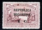 !! Mozambique 1913 AF#139* Vasco Da Gama On Macao 1 Centavo (x7597) - Mozambique