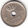 NORUEGA 1927. 25 ÖRE. REY HAAKON VII EBC  CN4446 - Noruega