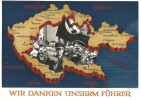 Propagandakarte DR Mit SoSt. - Germany