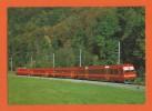SCHWEIZ, BAHN - SUISSE, TRAIN-Pendelzug Der SZU (Sihltal-Zürich-Uetliberg-Bahn) Mit Umrichterlokomotive Re 4/4 Nr 46/47 - Trains