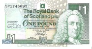 Scotland - Pick 360 - 1 Pound 1999 - Unc - Scozia