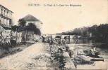 St-Junien Le pont et le quai des m�gisseries