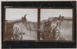 Französische Kanone - 1915 , Rohrkrepierer - Ausrüstung