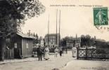 CPA  -   AUNAY - SOUS - BOIS   (93)  Le Passage à Niveau  -  1909 - Aulnay Sous Bois